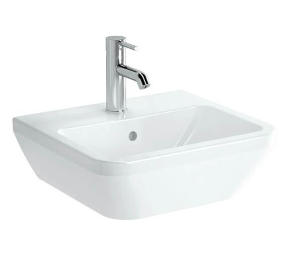 VitrA Integra 1 Tap Hole Square Ceramic Washbasin