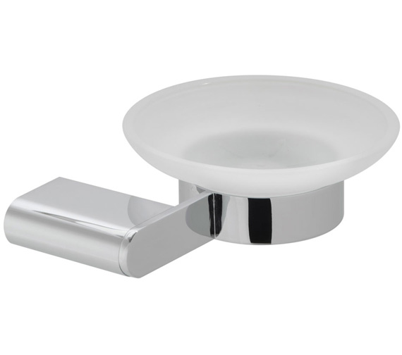 Vado Photon Frosted Glass Soap Dish And Holder