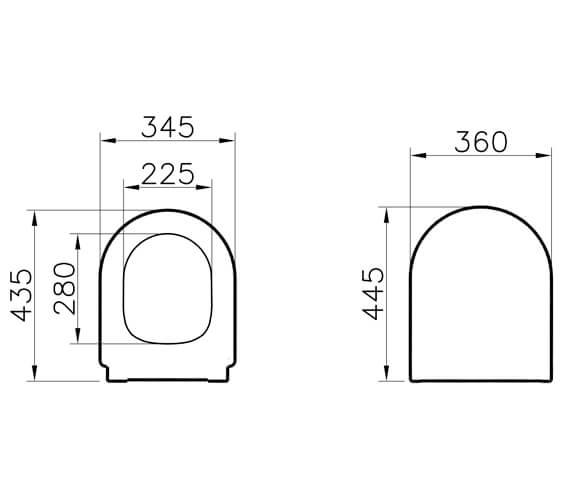 Technical drawing QS-V90801 / 108-003-301