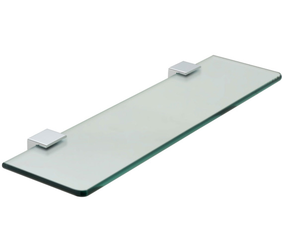 Vado Phase 558mm Frosted Glass Shelf