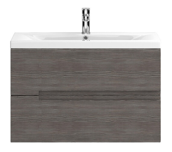 Alternate image of Hudson Reed Urban 2 Drawer Wall Hung Unit With Minimalist Basin