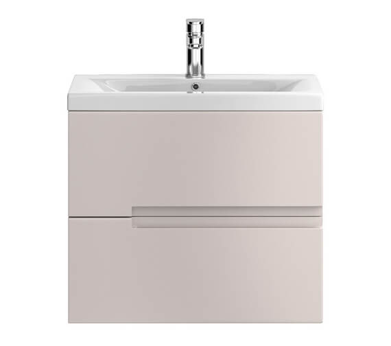 Alternate image of Hudson Reed Urban 2 Drawer Wall Hung Unit With Mid-Edge Basin