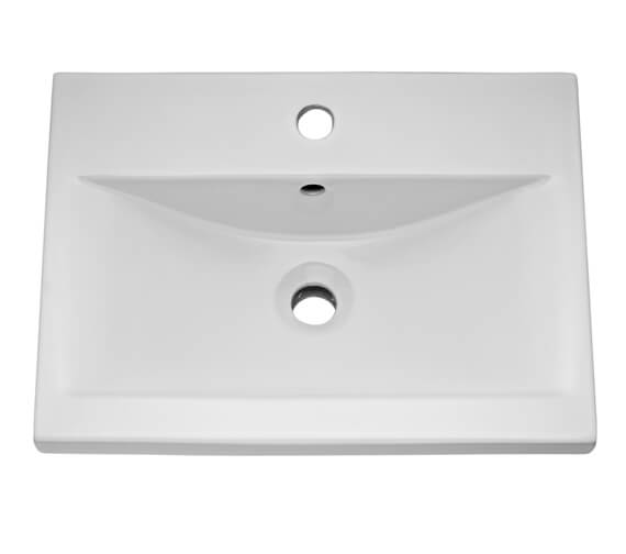Hudson Reed 1 Tap Hole Mid Edged Basin