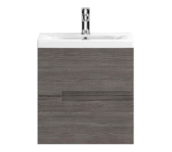 Additional image of Hudson Reed Urban 2 Drawer Wall Hung Unit With Minimalist Basin