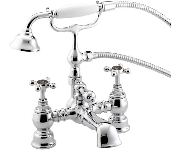 Bristan Trinity Bath Shower Mixer Tap With Handset And Hose - TY2 BSM C