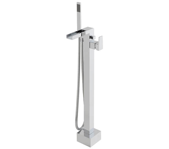 Vado Synergie Floor Standing Bath Shower Mixer Tap With Shower Kit