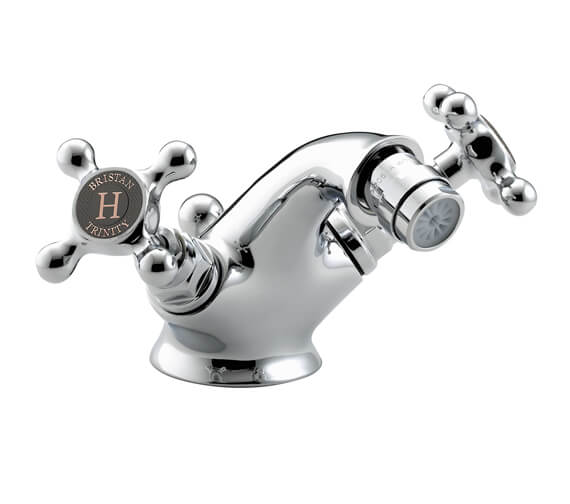 Bristan Trinity Bidet Mixer Tap With Pop-Up Waste - TY2 BID C