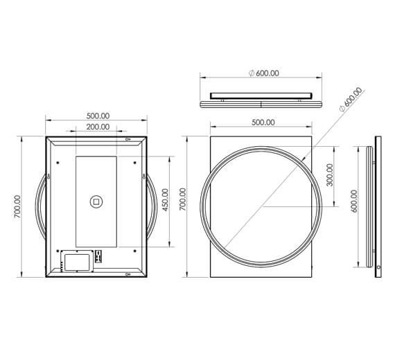 Technical drawing QS-V99583 / 79510500