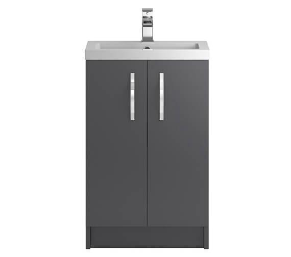 Hudson Reed Apollo Floorstanding 2 Door Full Depth Cabinet And Basin