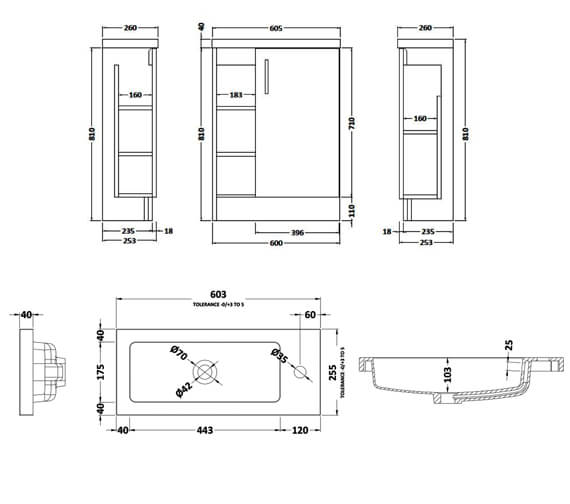 Technical drawing QS-V90026 / APL776C