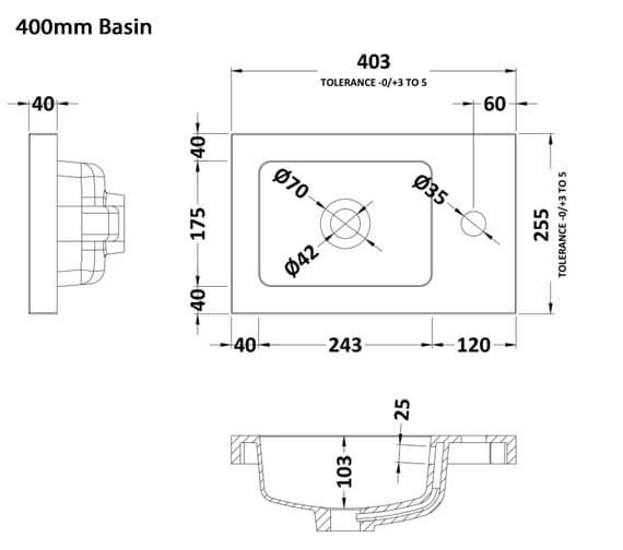 Technical drawing QS-V90191 / PMB301