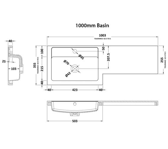 Technical drawing QS-V90199 / PMB412L