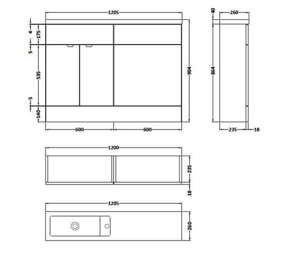 Technical drawing QS-V90144 / CBI108