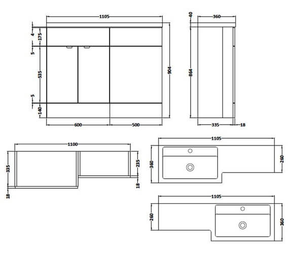 Technical drawing QS-V90120 / CBI102