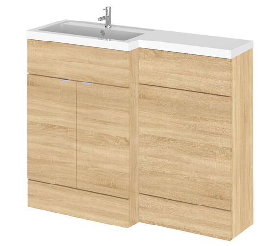 Additional image of Hudson Reed Fusion 1100mm Full Depth Furniture Pack - Vanity And Wc Unit With Basin
