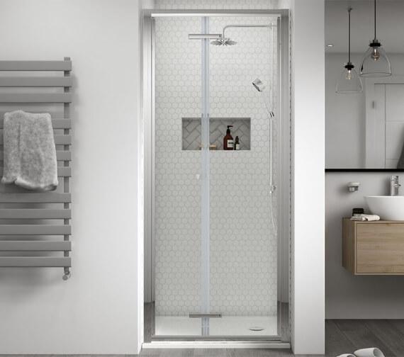 Aqualux Shine 8 2000mm High Bi-Fold Door