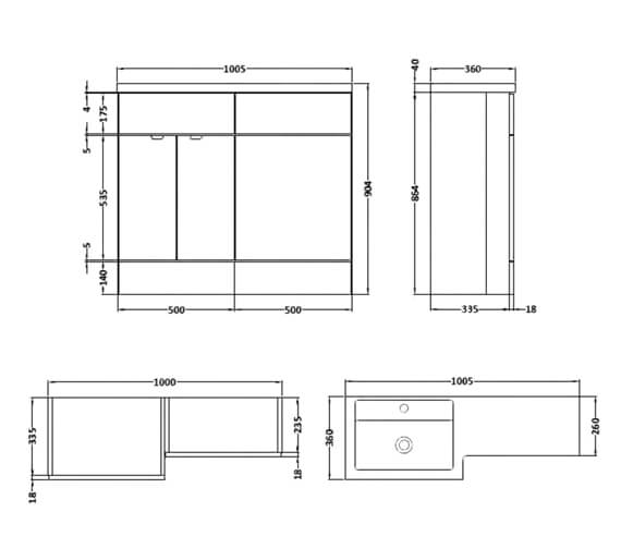 Technical drawing QS-V90112 / CBI126