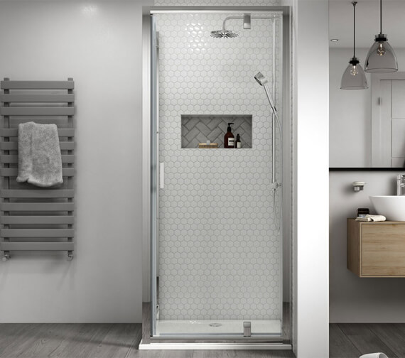 Alternate image of Aqualux Shine 8 Pivot Door