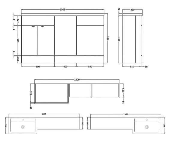 Technical drawing QS-V90320 / CBI115