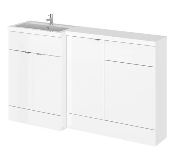 Hudson Reed Fusion 1500mm Furniture Pack - Vanity Unit-Base Unit-Wc Unit With Basin