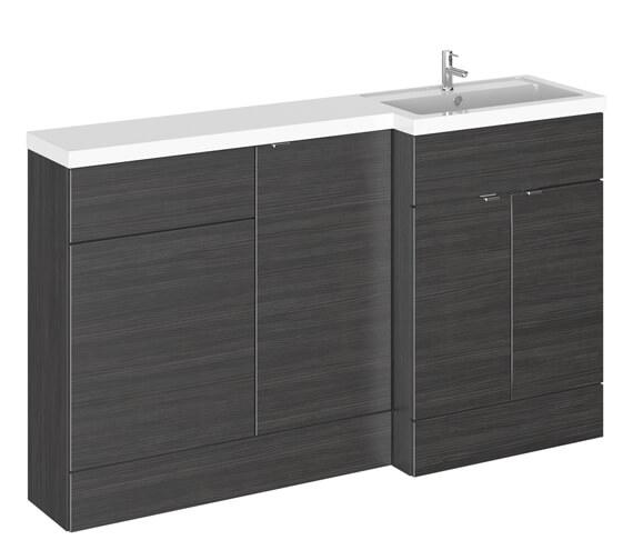 Alternate image of Hudson Reed Fusion 1500mm Furniture Pack - Vanity Unit-Base Unit-Wc Unit With Basin