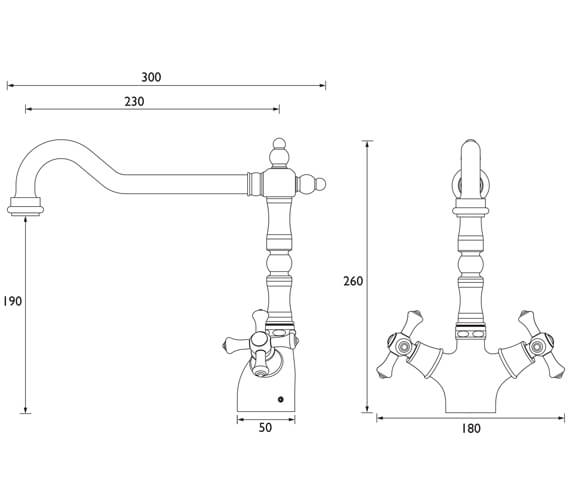 Technical drawing QS-V7535 / K SNK EF C