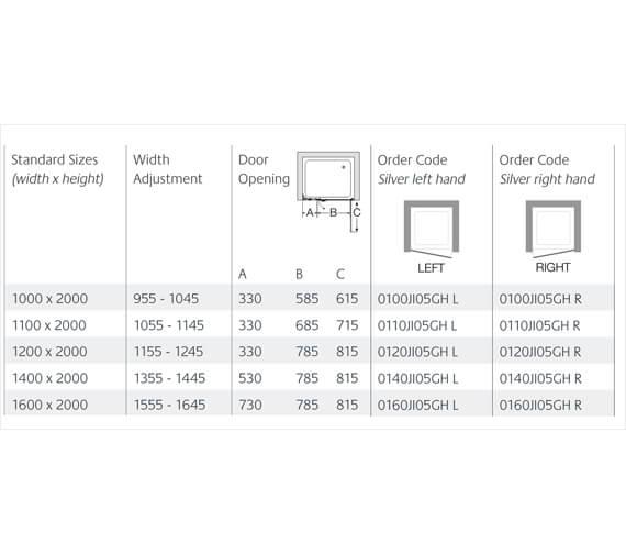 Technical drawing QS-V99587 / 0100JI05GHL