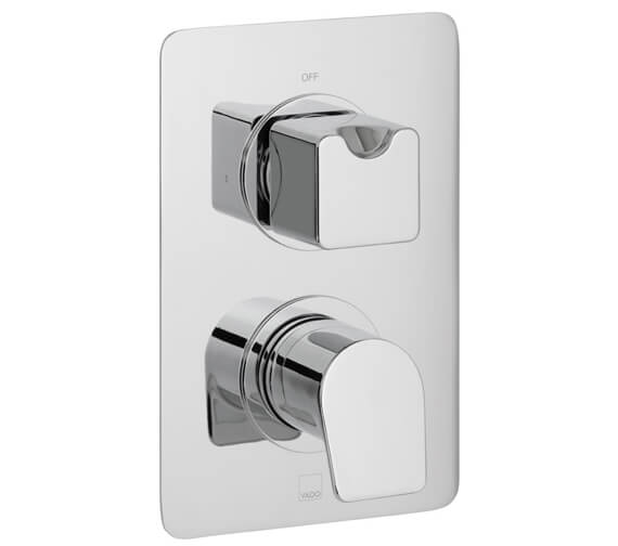 Vado Photon 1 Outlet 2 Handle Concealed Thermostatic Shower Valve