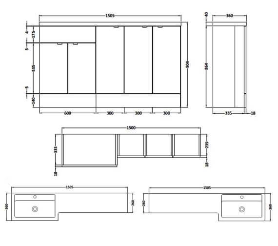 Technical drawing QS-V90340 / CBI117