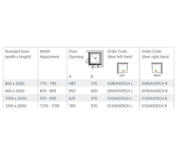 Technical drawing QS-V99593 / 0080AS05GHL