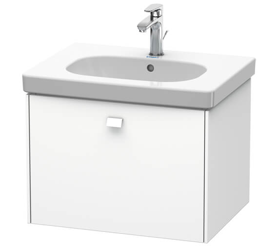 Duravit Brioso Wall Mounted 1 Drawer Vanity Unit For D-Code Basin