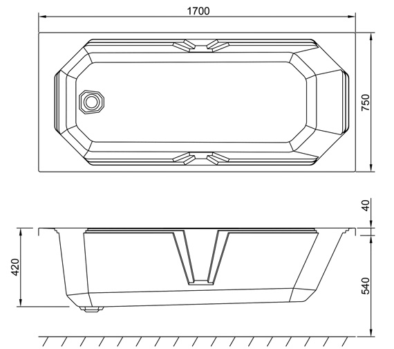 Technical drawing QS-V9393 / Q4-02535
