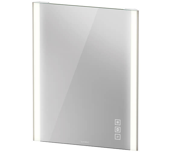 Duravit Xviu 800mm High Mirror With LED Lighting