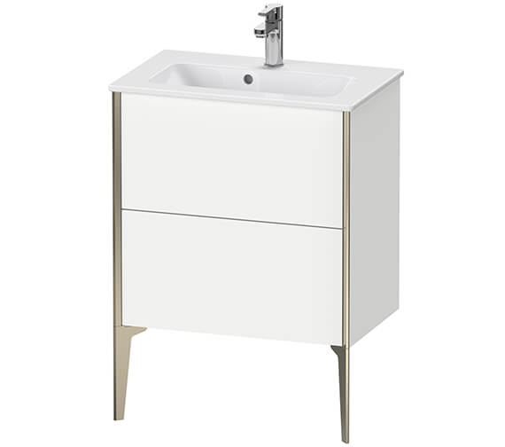 Duravit XViu Floor-Standing 2 Pull-Out Compartments Vanity Unit For ME By Starck Basin
