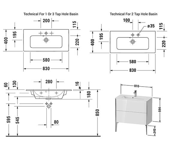 Technical drawing QS-V42549 / XV44880B118