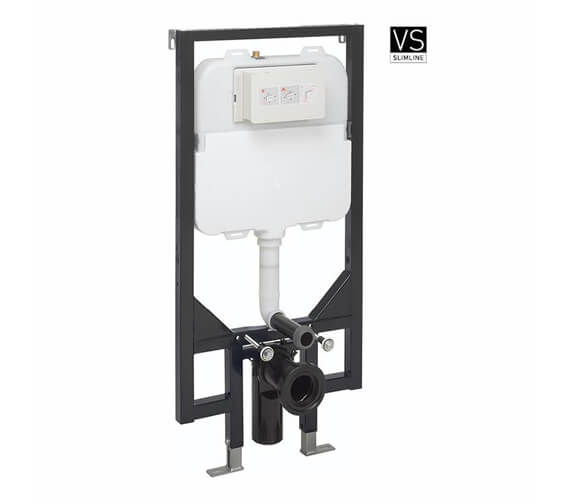 Crosswater 1180mmm Height Ultra Slim Wall Hung WC Support Frame