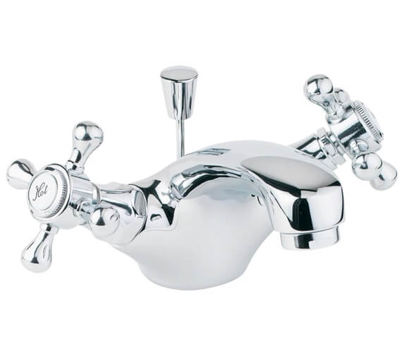 Deva Tudor Mono Basin Mixer Tap With Pop-Up Waste