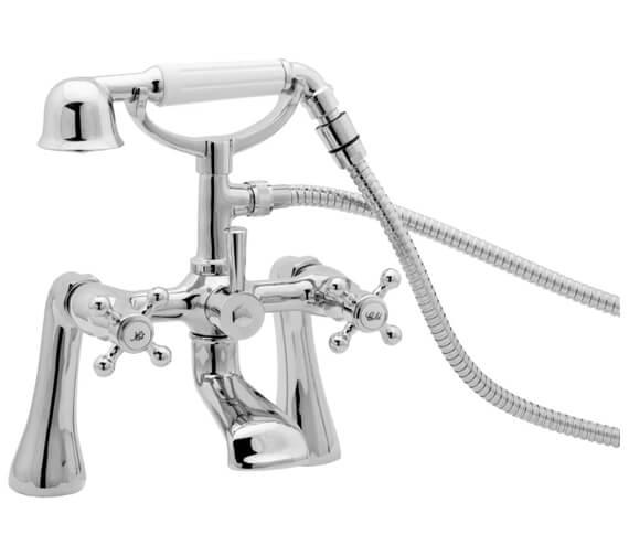 Deva Tudor Pillar Mounted Bath Shower Mixer Tap