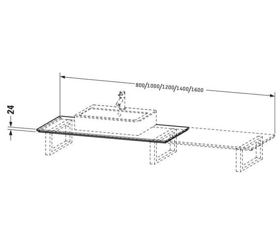 Technical drawing QS-V101263 / XL025D04949