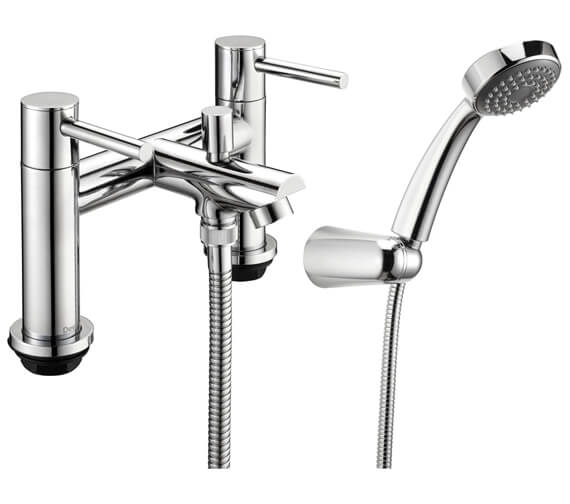 Deva Insignia Deck Mounted Bath Shower Mixer Tap With Kit