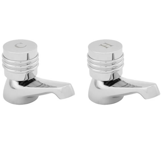 Deva Solerno Pair Of Basin Taps