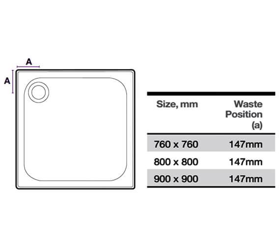 Technical drawing QS-V13002 / D76SQ
