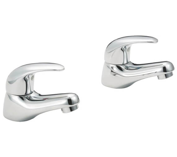 Deva Elan Pair Of Basin Taps