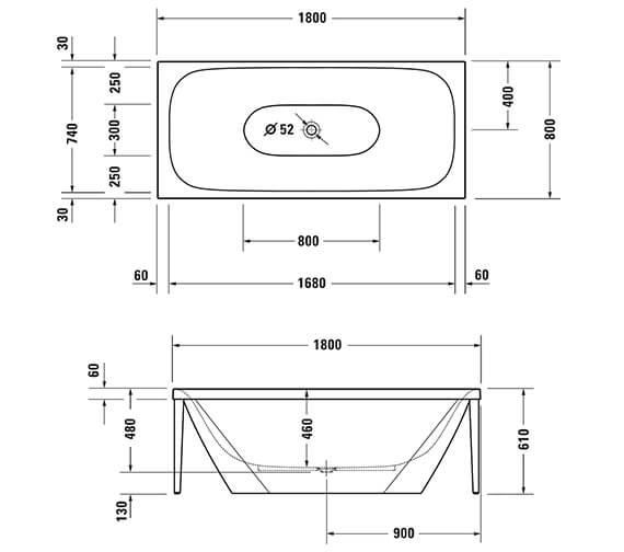 Technical drawing QS-V96300 / 700444000B10000