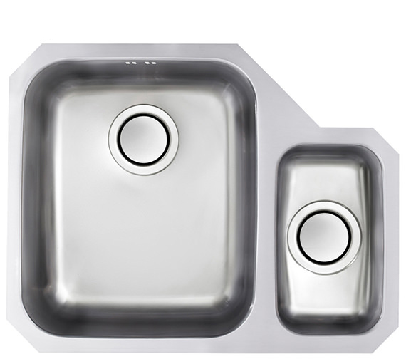 Additional image of Astracast Edge D1 1.5 Bowl Polished Stainless Steel Undermount Sink