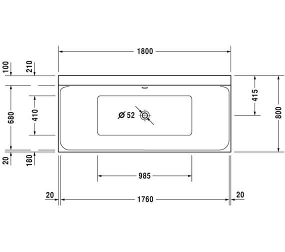 Technical drawing QS-V75064 / 700377000000000