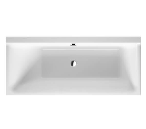 Duravit P3 Comforts 1600 x 700mm Left Slope Bath - 700371