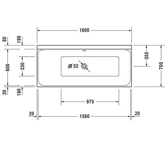 Technical drawing QS-V27775 / 700371000000000