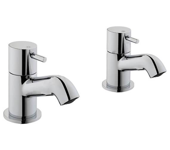 VitrA Minimax S Pair Of Bath Pillar Tap Chrome