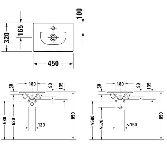 Technical drawing QS-V96302 / XV4068LB118